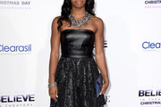 Gabrielle Douglas Strapless Dress