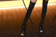 Kendall Jenner Over the Knee Boots