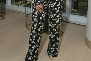 La La Anthony Print Pants