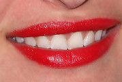 Joell Posey Red Lipstick