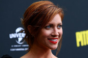 Brittany Snow Messy Updo