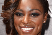 Sloane Stephens Side Swept Curls