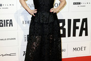 Helena Bonham Carter Lace Dress