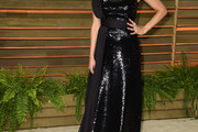 Melonie Diaz Beaded Dress