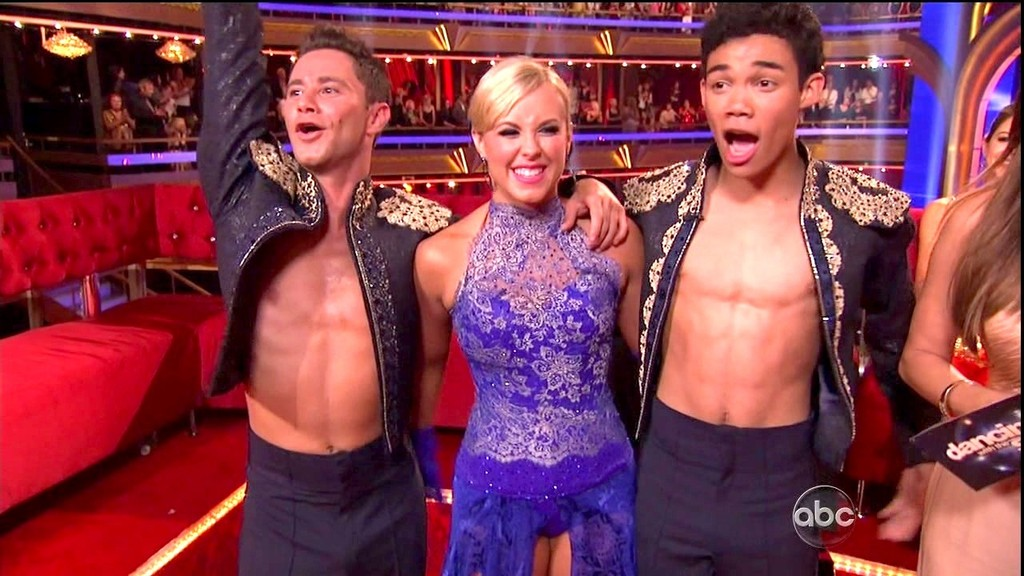 mark and chelsie dancing with the stars dating Paige vanzant playfully jumps on mark ballas' back in this shot from dancing with the stars on monday night (april.