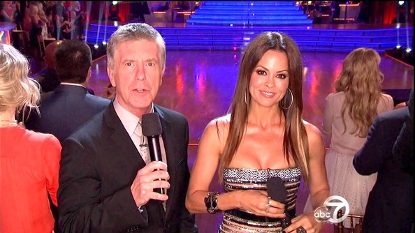 Brooke Burke Charvet - Dancing with the Stars Season 14 Episode 16