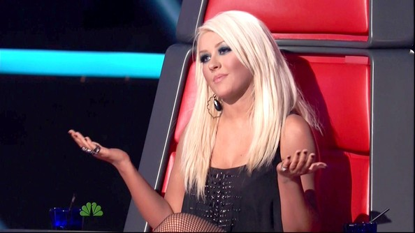 Christina Aguilera Photos Photos - The Voice Season 2 ...
