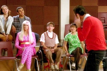Kevin McHale Darren Criss Glee Season 4 Episode 16