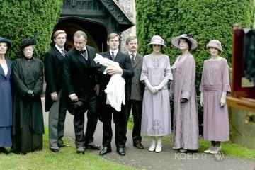 Maggie Smith Downton Abbey Season 3 Episode 7