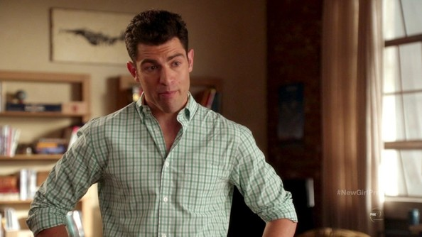 max greenfield new girl