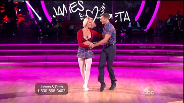 dancing with the stars peta and james dating Peta murgatroyd is a dancing with the stars veteran assigned the task of spinning around the abc ballroom with james maslow of big time rushof course, there have been rumors of peta.