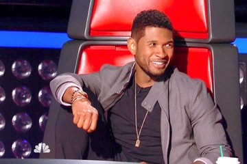 Usher 2013 The Voice Usher 2013 Pictures, P...